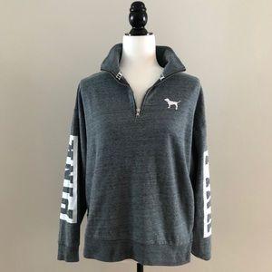 PINK | 1/4 Zip Sweatshirt